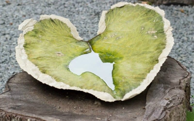 A Cement Leaf, A Wooden Fish, and…