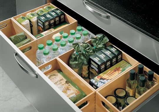 deep kitchen drawers