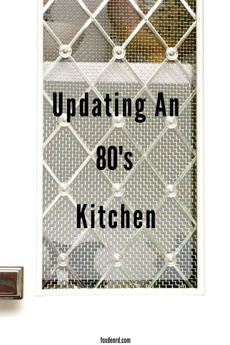 updating an 80s kitchen
