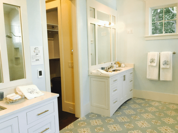 Idea house master bath