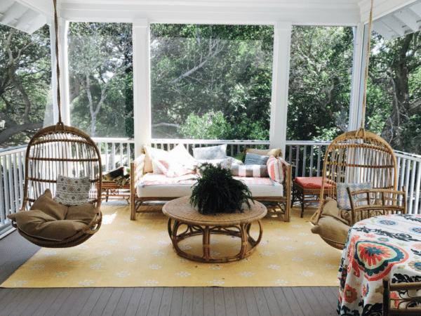 Idea house porch