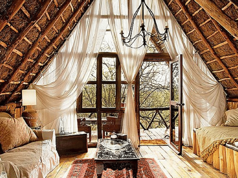 Romantic sitting room