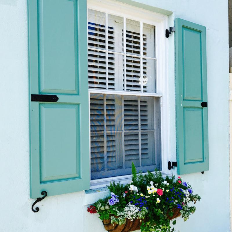 Charleston shutters